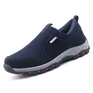 Men-039-s-Hiking-Casual-Shoes-Slip-On-Outdoor-Sneakers-BreathableClimbing-Shoes
