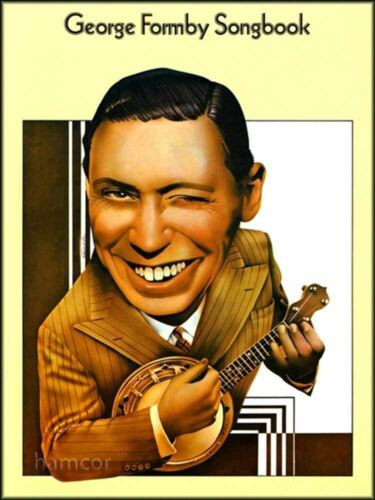 George Formby Songbook Piano Vocal Ukulele Sheet Music Book Chord Songbook