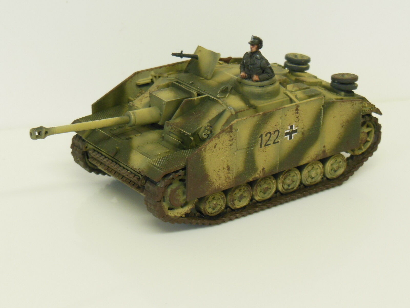 28mm Bolt Action Chain Of Command German STUG - Painted & Weathered