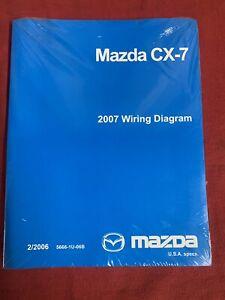 2007 Mazda CX-7 CX7 Factory Original Electrical Wiring ...