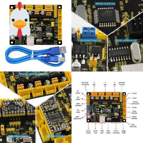 Keyestudio Grbl Cnc Controller Board Diy Cnc Grbl V0.9 Mikrocontroller Für Las