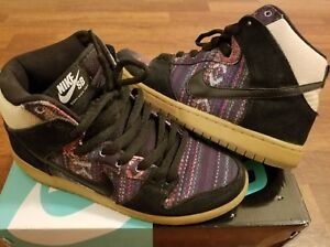 reputable site d9cd6 208a8 Details about Nike SB Dunk High Hacky Sack size 6.5 - multi low