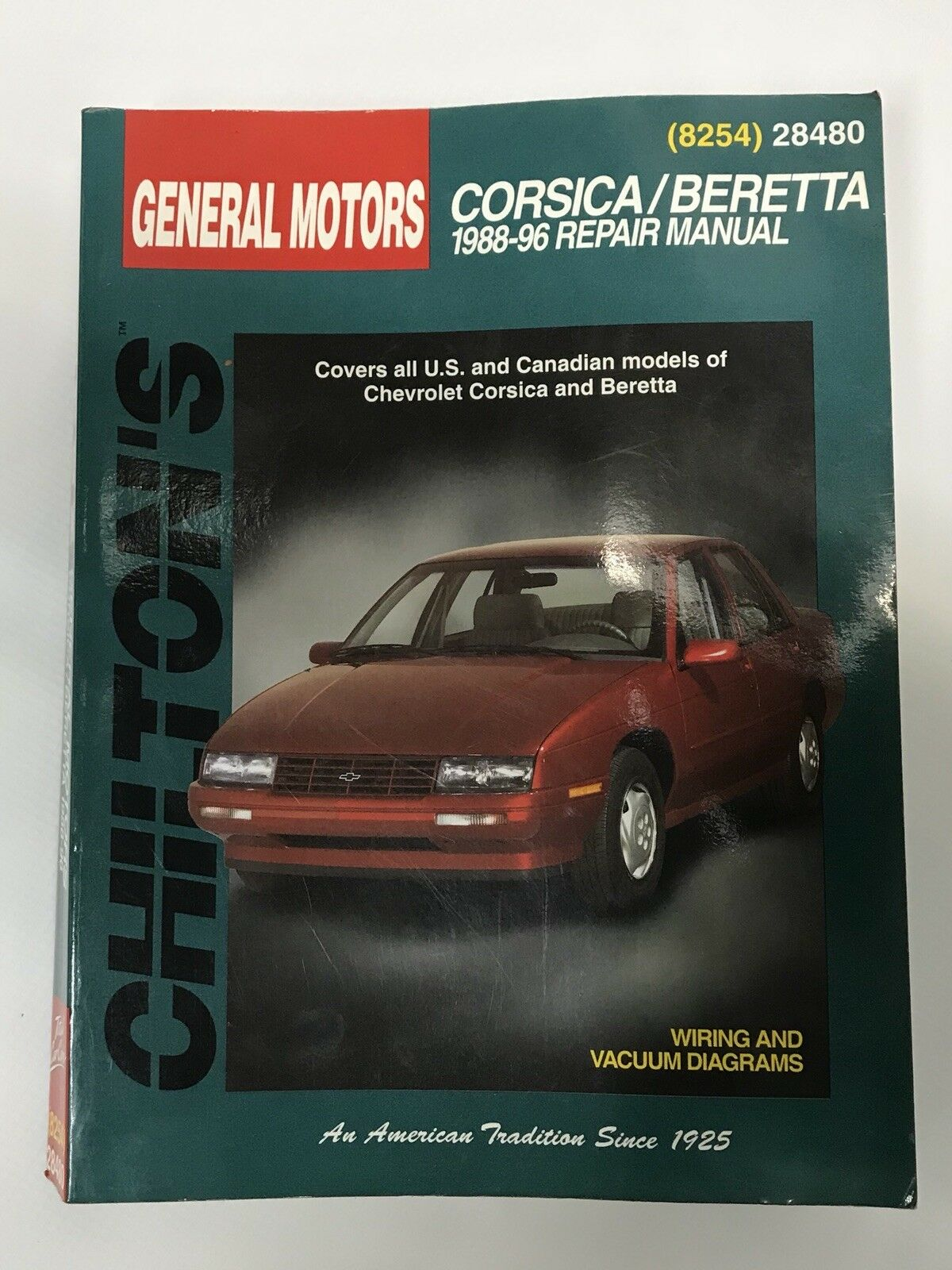 Total Car Care: Chevrolet Corsica and Beretta, 1988-1996 by Chilton  Automotive Editorial Staff (1998, Paperback) | eBay