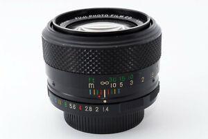 Rare-comme-Est-Fuji-EBC-Fujinon-50mm-F-1-4-Mf-Objectif-pour-M42-Support-De