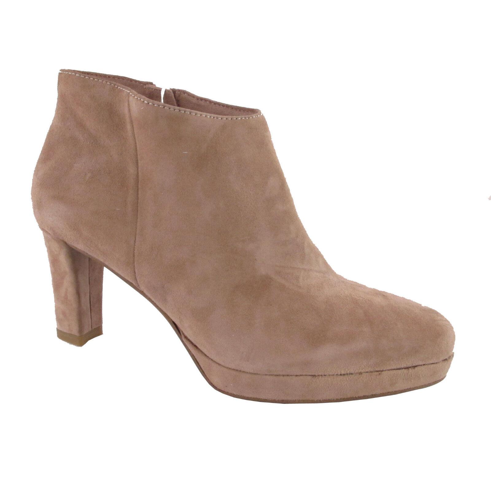 Tamaris ankleboots rosa gamuza-cuero nuevo zapatos señora botín plataforma nuevo