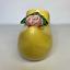 thumbnail 2 - McCoy Yellow Ceramic Clog Planter