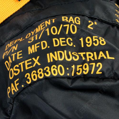 Da BorsaTracolla Militare Para Confezione Spalla Nero Pilota Scuola Airforce OwXkuTiPZ