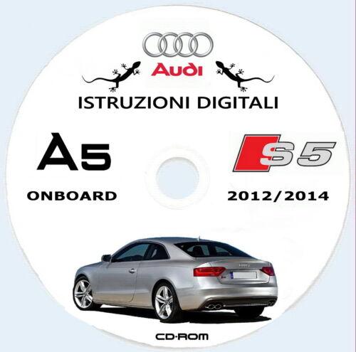 MMI 2013 ITA AUDI A5 e S5,uso manutenzione