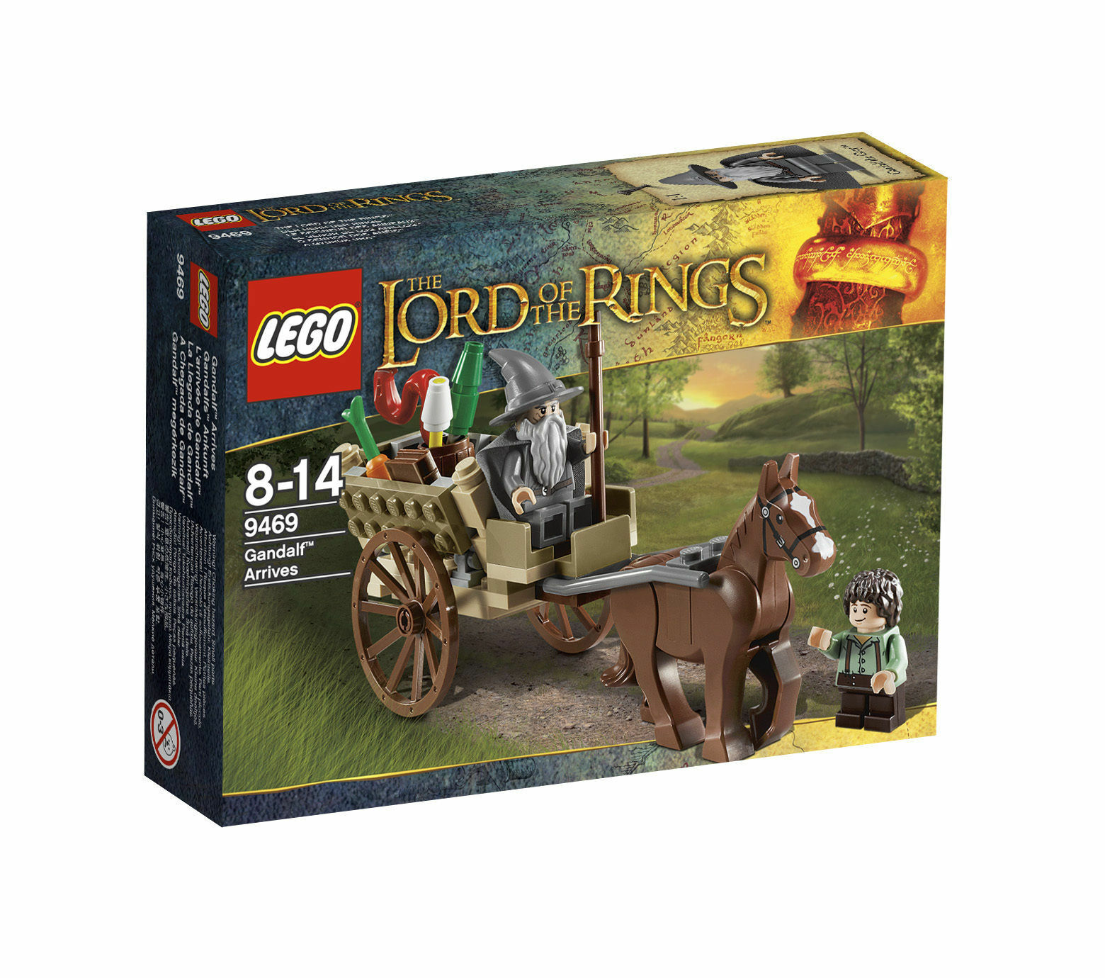 LEGO® Lord Lord Lord of the Rings 9469 Die Ankunft von Gandalf NEW SEALED PASST ZU 9476 c6ebdf