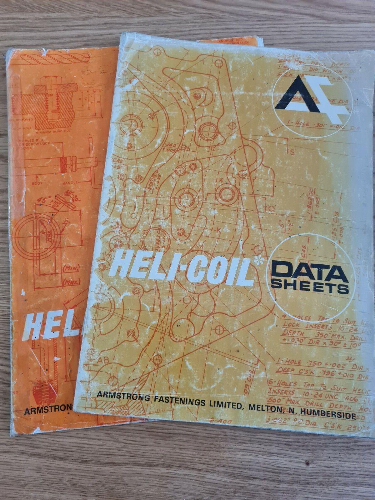 Heli-Coil hojas de datos-Armstrong Fijaciones