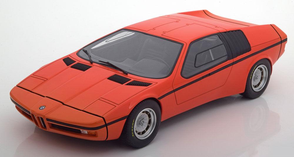 Schuco 1972 BMW M1 Turbo Concept Studie X1 E25 Orange 1 18 Echelle