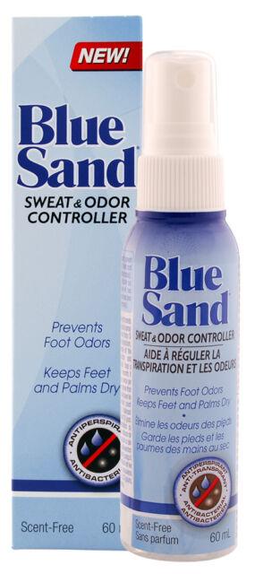 BLUE SAND ANTIPERSPIRANT 60mL - PREVENTS EXCESSIVE SWEATING / HYPERHIDROSIS