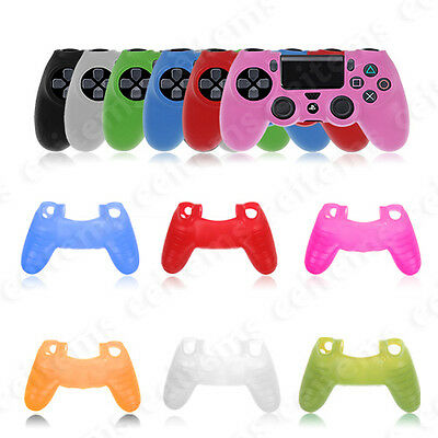 Protective Silicone Gel Case Cover for PS4 Playstation 4 Wireless Controller New