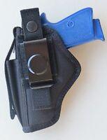 Hip Belt Holster For Bersa Thunder 380 & 22 Pistol Built-in Extra Magazine Pouch