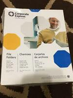 Corporate Express A Buhrmann Company File Folders 94 Count 1/3 Cut Tabs
