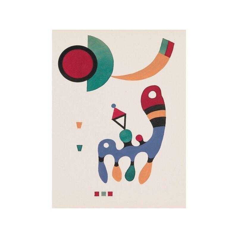Quadro su Pannello in Legno MDF Wassily Wassily Wassily Kandinsky 11 tableux et 7 poèmes | Convivial  | Mende  | Matière Choisie  c4e0b9