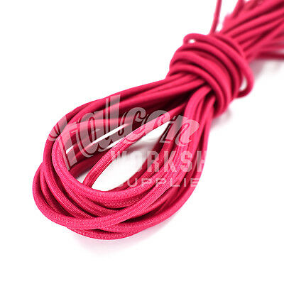 Ropes, Cords & Slings 3.0mm X 10m Dark Pink Bungee Elastic Shock Cord Tents & Canopies Clothing Jewellry Crafts Sewing Strengthening Waist And Sinews