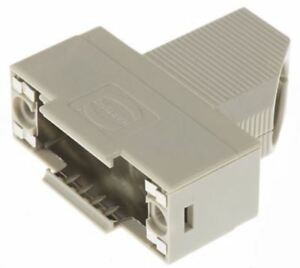 HARTING-D-Sub-serie-POLIMERI-angolo-destro-connettore-Backshell-15-Way-STRA