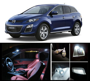 2007 2012 Mazda Cx 7 Premium White Led Interior Package 7 Pieces Ebay