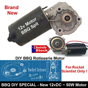 ELECTRIC-12v-MOTOR-HEAVY-DUTY-DIY-BBQ-SPIT-ROAST-ROTISSERIE-UNIVERSAL-GRILL-KIT