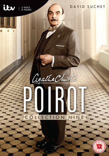 Agatha Christie's Poirot: The Collection 9 DVD (2013) David Suchet ***NEW***