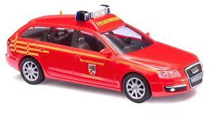 Busch-HO-49662-Audi-A6-Avant-034-Pompier-Dessau-034-Vehicule-d-039-intervention