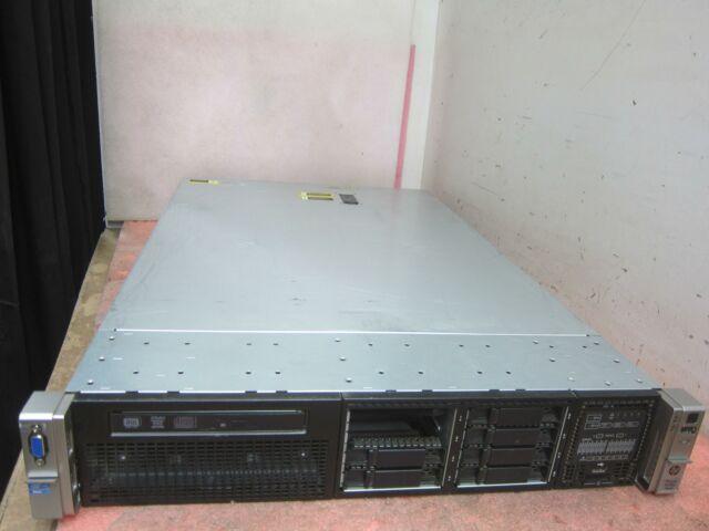 HP DL380p Gen8 2U Server - 2x XEON E5-2640 @ 2.5GHz 24GB DDR3 2.5