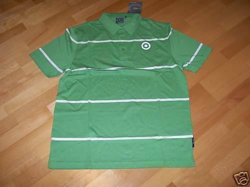 Neilpryde Stripes Poloshirt S//S apple green Gr XL