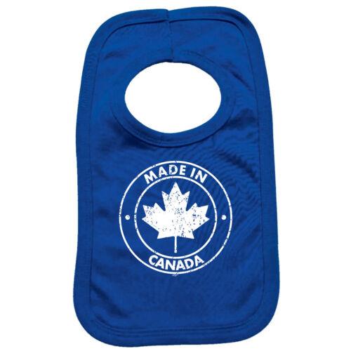 Funny Baby Infants Bib Napkin Made In Canada