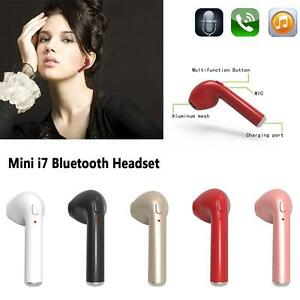 Mini In-Ear Wireless Earphone Earbud Headphone Bluetooth 4.1 Stereo Headset ET