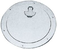 Deck Plate Bomar G840w 7-5/16 Id 10-9/16 Od 8-1/2 Stark White