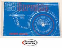 1968 Corvette Owner's Manual ( Gm Licensed Reprint)