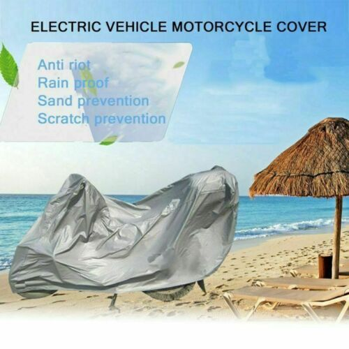 Motorcycle Protective Cover Waterproof Bike Scooters UV Rain/&Dust Proof Outdoor