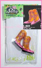 Free Shipping Original Pullip shoes Jun Planning Pink Orange Boots K623