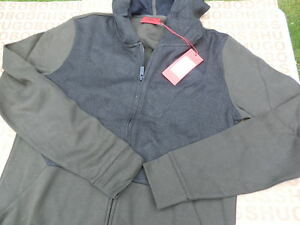 Clothing, Shoes & Accessories Practical New Hugo Boss Mens Brown Pro Sweatshirt Tracksuit Coat Jacket Suit Top Medium M Tracksuits & Sets