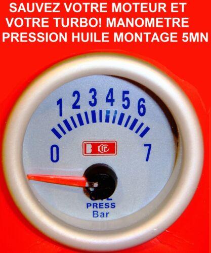 NAVARA HDJ PATROL PAJERO LAND HILUX JEEP TROOPERRANGE MANOMETRE PRESSION HUILE
