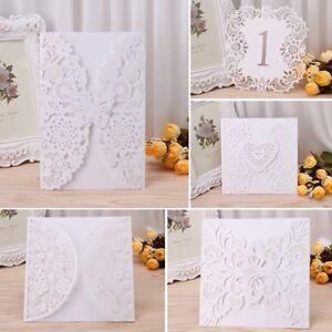 10pcs wedding invitation card kit personalized printing ebay a imagem est carregando 10pcs kit de cartao convite de casamento impressao stopboris Gallery