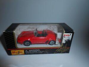 De-Coleccion-Nuevo-En-Caja-1990s-edicion-especial-de-Maisto-Rojo-Porsche-911-Speedster-1-64-11001