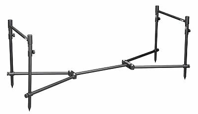 Spro Strategy XS Stand Up 2 Rod Set Bankstick Buzzer Bar Stand Up Foot NEW OVP