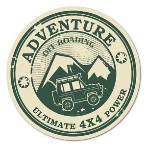 Adventure-4X4-Power-Sticker-Decal-4x4-4WD-Funny-Ute-6095EN