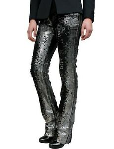 STUNNING-NEW-SOLD-OUT-3-225-BALMAIN-DISTRESSED-JEANS-WITH-SEQUINS-NWT