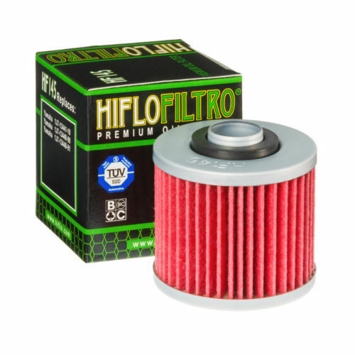 2004 to 2016 HifloFiltro Oil Filter HF145 Yamaha XT660R // XT660X // XT660Z