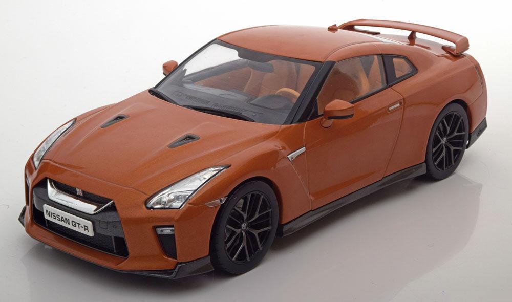 Triple 9 2017 Nissan Skyline GTR Orange Metallic Farbe 1 18 Neu Artikel Selten