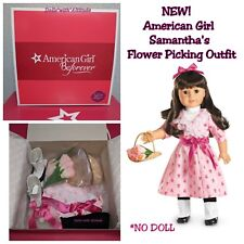 American Girl Samantha/'s Flower Picking Outfit Set RETIRED New in Box