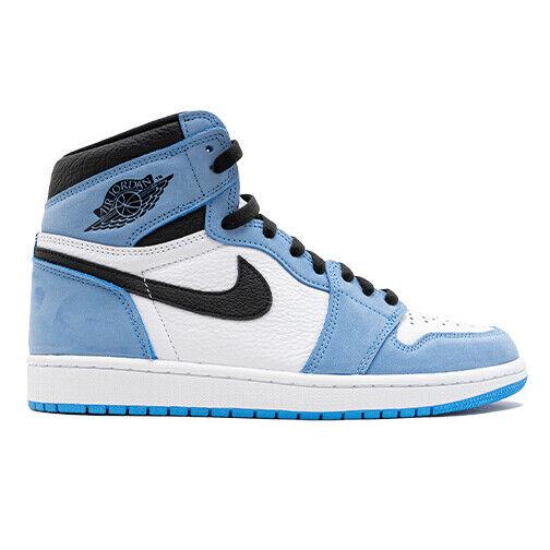 Size 8 - Jordan 1 Retro High OG University Blue for sale online | eBay