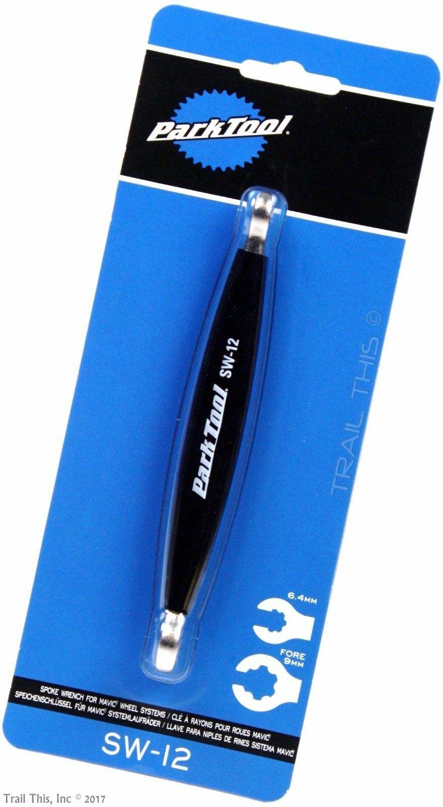 Park Tool SW-12C Spoke Wrench for 6/&7 Spline Mavic