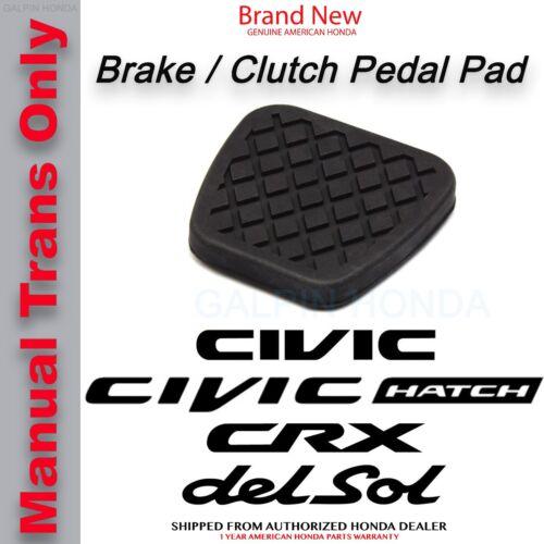 Clutch Pedal Rubber Cover 46545-SH3-000 Genuine OEM Honda Brake