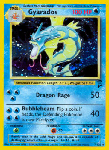 Pokemon Card Selection Base Set 2 (1/130)