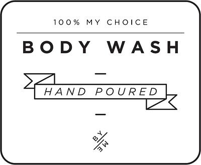 Household Supplies & Cleaning White 100% Original Other Home Cleaning Supplies Mini Body Wash Decal