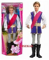 Mattel Barbie in the Pink Shoes Prince Siegfried Doll - X8811 Toys